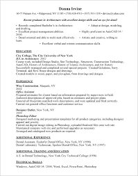 Architectural Resume Examples by Web Architect Resume