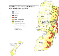A New Map Of Jewish by West Bank And Gaza Maps Perry Castañeda Map Collection Ut