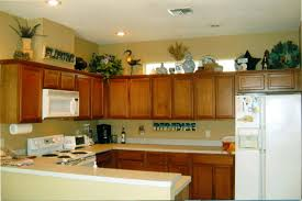 kitchen decorating ideas above cabinets simple decorating above kitchen cabinets ideas emerson design