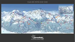 New York Ski Resorts Map by Les Arcs Piste Map Free Downloadable Piste Maps