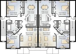 multifamily house plans multi family plan 65180 at familyhomeplans com