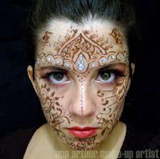 henna makeup arthur make up artist henna like makeup