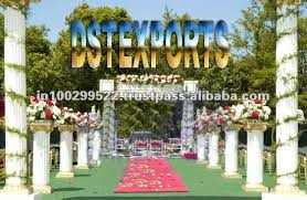 wedding arches and columns wholesale estel s bhavani cavelle yvonne page wedding columns