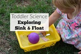 For Toddlers Science For Toddlers Sink And Float Activities The Stay At Home