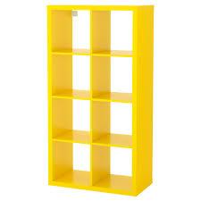Ikea Storage Cubes Kallax Shelf Unit Yellow Ikea