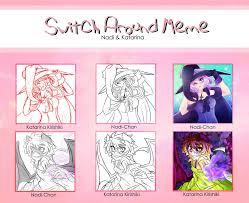 Switch Around Meme - switch around meme v 7 by nadi chan on deviantart