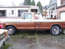 Ford Ranger Truck Bed Camper - old parked cars vancouver 1979 chevrolet corvette 1973 ford