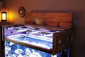Diy Canopy Bed With Lights Building A Aquarium Canopy Reef Aquarium