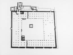 floor plan of mosque great mosque of san u0027a mit libraries