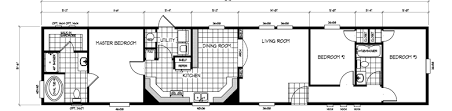 3bed 2bath Floor Plans Mobile Home Floor Plans Single Wide U0026 Double Wide Manufactured
