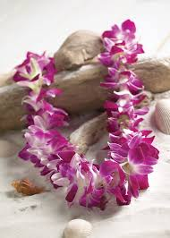 Leis Flowers - how to host a luau party hawaiian luau lifestyle blog and learning