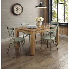 better homes and gardens collin distressed green dining chair 2pk