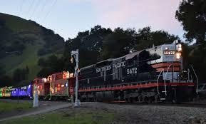 sunol train of lights niles canyon railway train of lights 2014 youtube