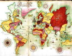 Accurate Map Of The World A New And Accurate Map Of The World 1628 You Can See A Map Of