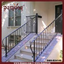 stair hand rails wrought iron porch and iron