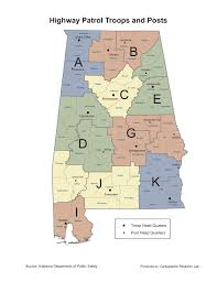 Georgia Road Map Alabama Maps Transportation