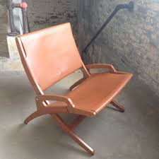 Stakmore Folding Chairs by Vintage Leather Chair Mid Century Hans Wegner Style Chair