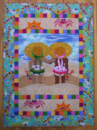 beach babies quilt pattern baby kids quilts pinterest baby