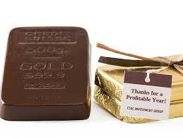 gold bullion chocolate bar li lac chocolates