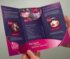 beauty parlour brochure template u2013 35 free jpg psd indesign