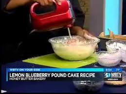 how to lemon blueberry pound cake youtube