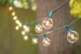 100 ft outdoor string lights led globe string lights g50 bulb 100 ft green c7 strand warm white