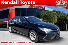 2015 toyota camry images certified used 2015 toyota camry le 4d sedan in miami 92778a