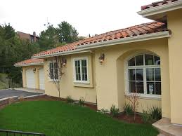 Stucco Patio Cover Designs Porch Roof Designs Exterior Mediterranean With Arch Windows