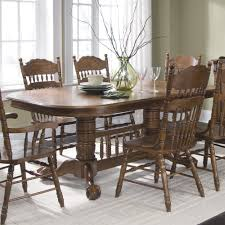Liberty Furniture Dining Table by Liberty Furniture Old World Double Pedestal Dining Table The Mine
