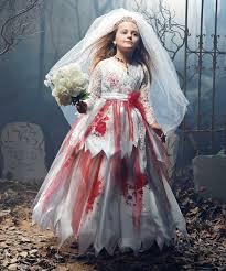 Dead Bride Halloween Costume Zombie Bride Girls Costume Halloween Zombie Bride