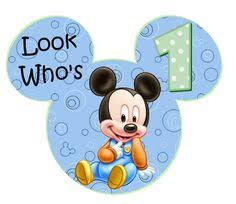 mickey mouse 1st birthday boy mickey mouse 1st birthday clipart clipartxtras