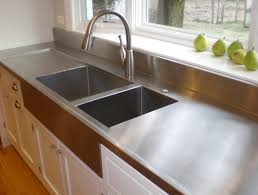 stainless steel countertop with sink ikea stainless steel countertops 8850 for plan 2 tubmanugrr com