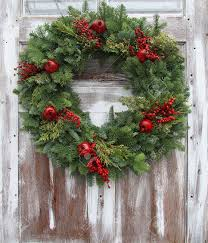 Christmas Decorations For Outside Door by Outside Christmas Decorations Stock Photos U0026 Pictures Royalty