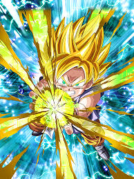 dashing light super saiyan goku gt dragon ball dokkan battle
