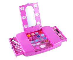 Barbie Kitchen Set For Kids Amazon Com Tokia Kids Makeup Set Kids Makeup Play Sets For