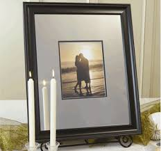 wedding autograph frame idoengravables engravable signature photo mats