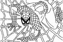 spiderman coloring games coloring pages