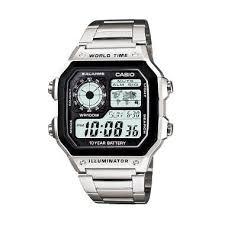 Jam Tangan Casio casio illuminator ae 1200whd 1avdf jam tangan pria