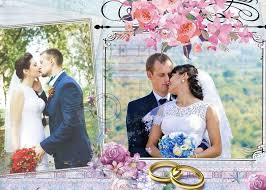 29 best wedding collages set just married photoshop templates
