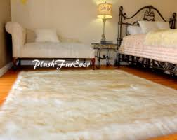 Sheepskin Area Rugs Faux Fur Rugs Throws Sheepskins Mongolian Sc By Plushfurever