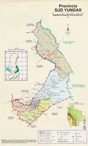 Imagenes De Sud Yungas | provincia sur yungas mapa departamento de la paz historia