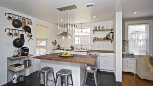 Cottage Kitchen Island Cottage Kitchen With Wood Counters U0026 High Ceiling In Charleston