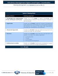 how to write a business case study paper ib business management medimatte simplebooklet com ib business management higher level paper 1 examination ib business management www businessmanagementib com