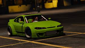 nissan 240sx rocket bunny nissan silvia s15 rocket bunny add on replace gta5 mods com
