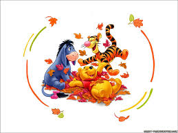 cartoon thanksgiving wallpaper autumn winnie the pooh wallpaper eeyore