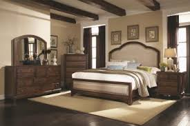 upholstered bedroom set laughton casual upholstered bedroom set in cocoa brown