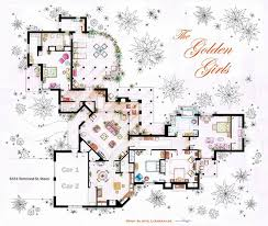 interesting floor plans interesting detailed floor plans of tv shows by iñaki