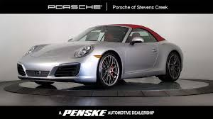 porsche 911 convertible 2018 2018 new porsche 911 carrera 4s cabriolet at porsche of stevens