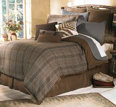 Woolrich Home Comforter Canadian Log Homes Rustic Decorating