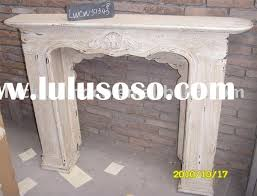 Shabby Chic Fireplaces by Shabby Chic Wood Fireplace Mantel Shabby Chic Fireplace Mantel
